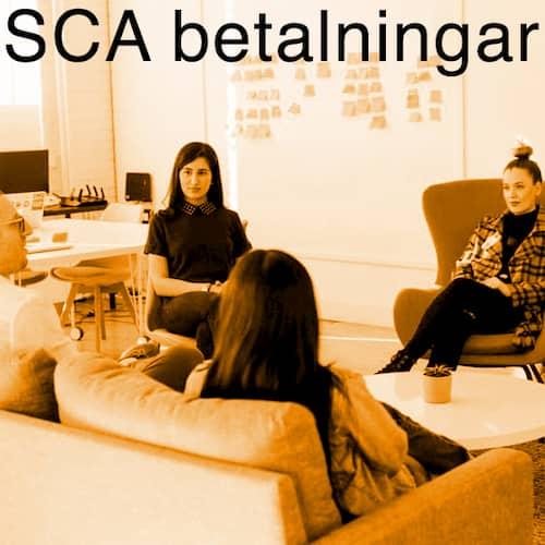 SCA betalningar webbyrå